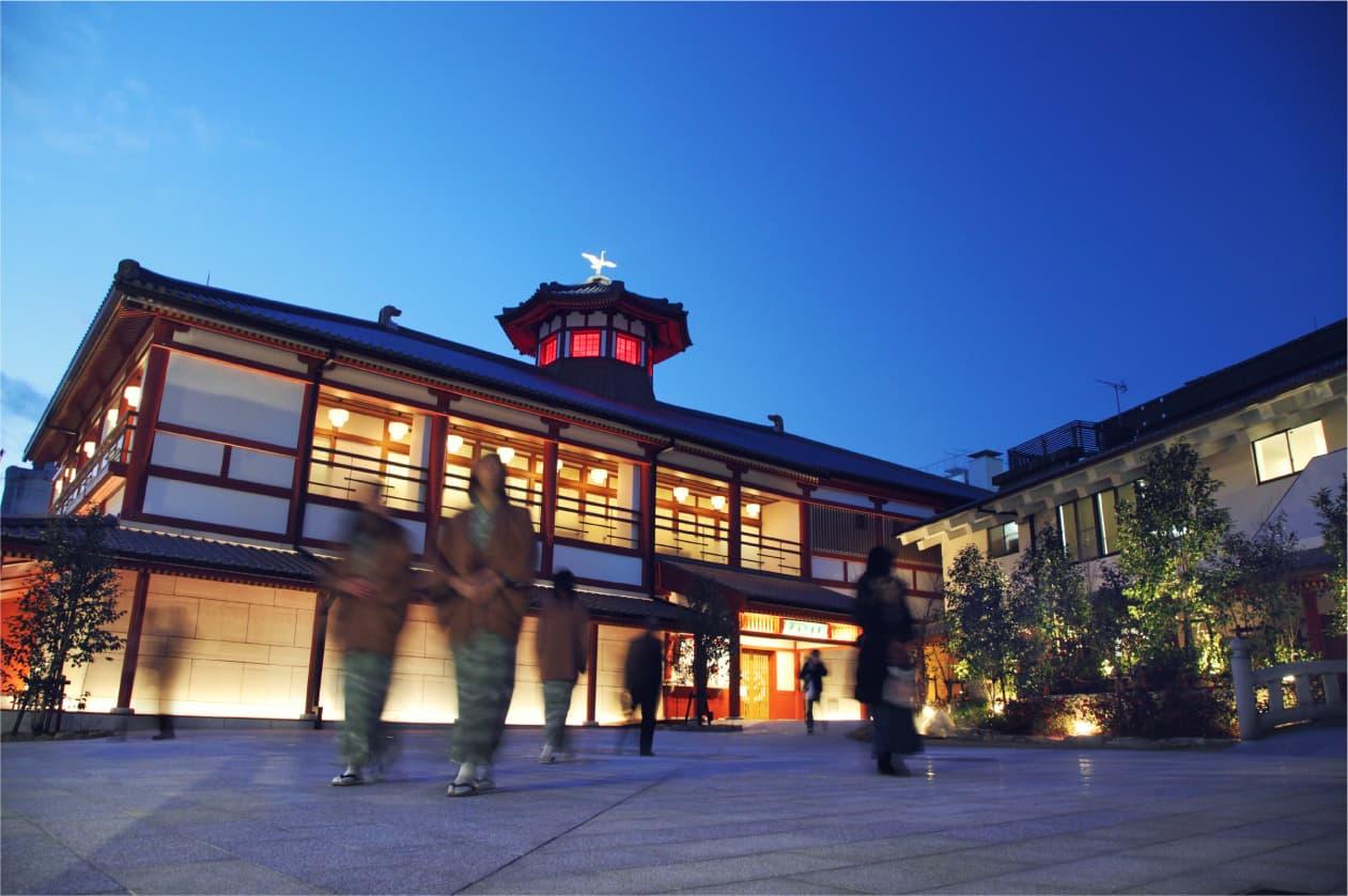传播崭新的温泉文化,以飞鸟时代为设计主题的温泉设施诞生了!!