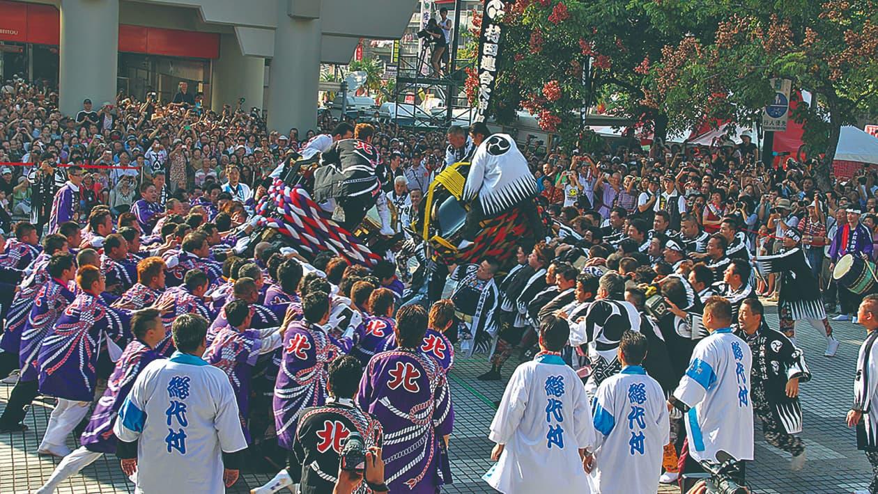 松山秋季祭典