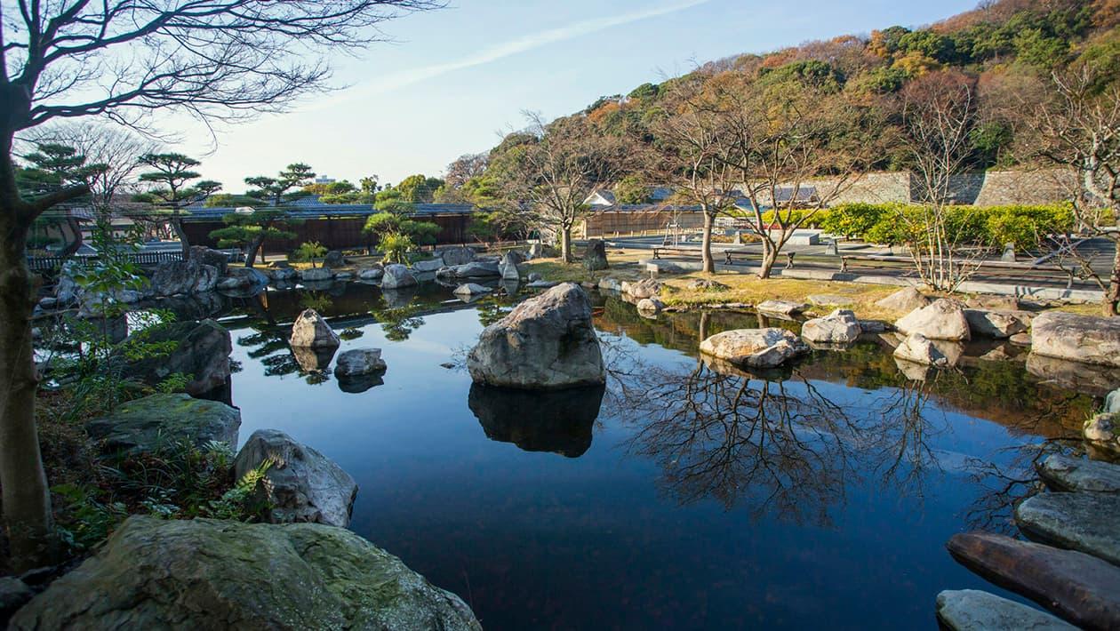 松山城二之丸史迹庭园