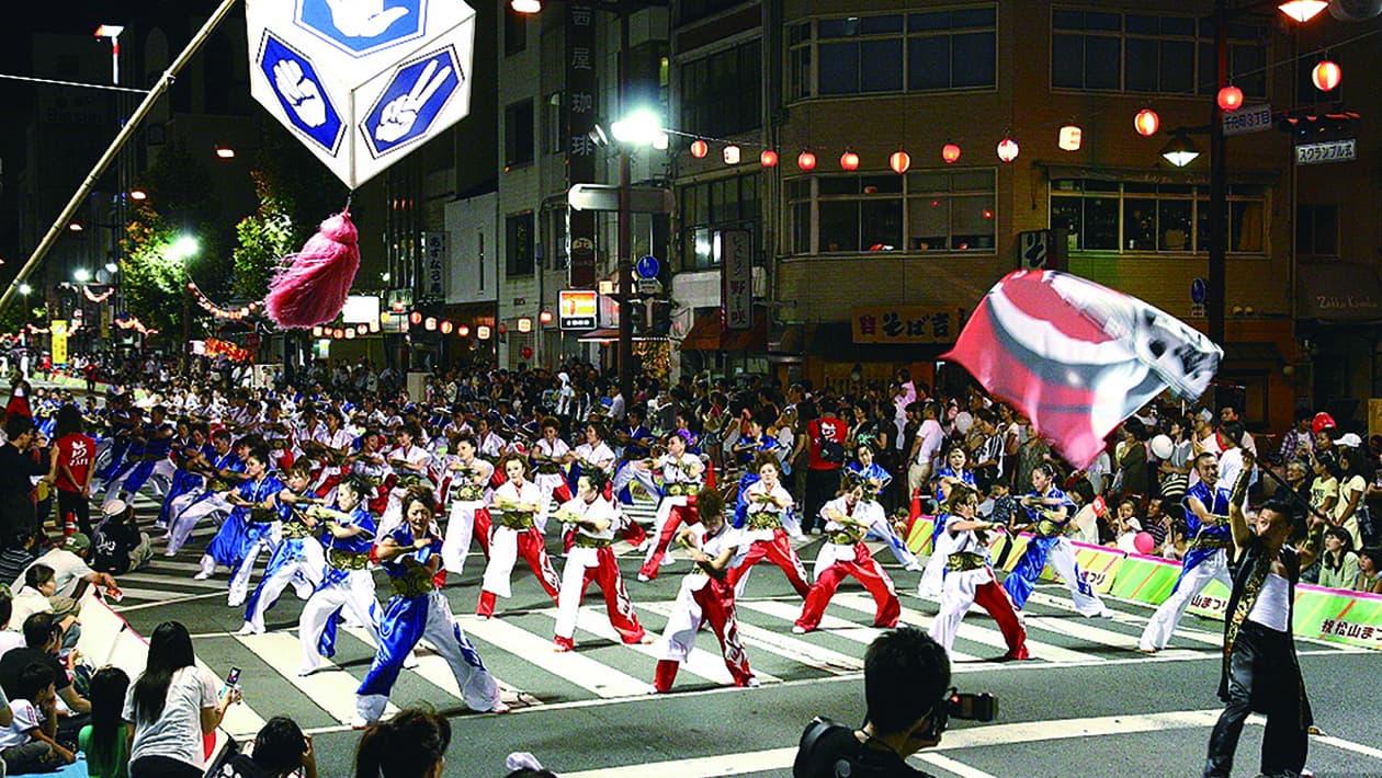 松山祭典 (棒球拳舞・棒球桑巴)