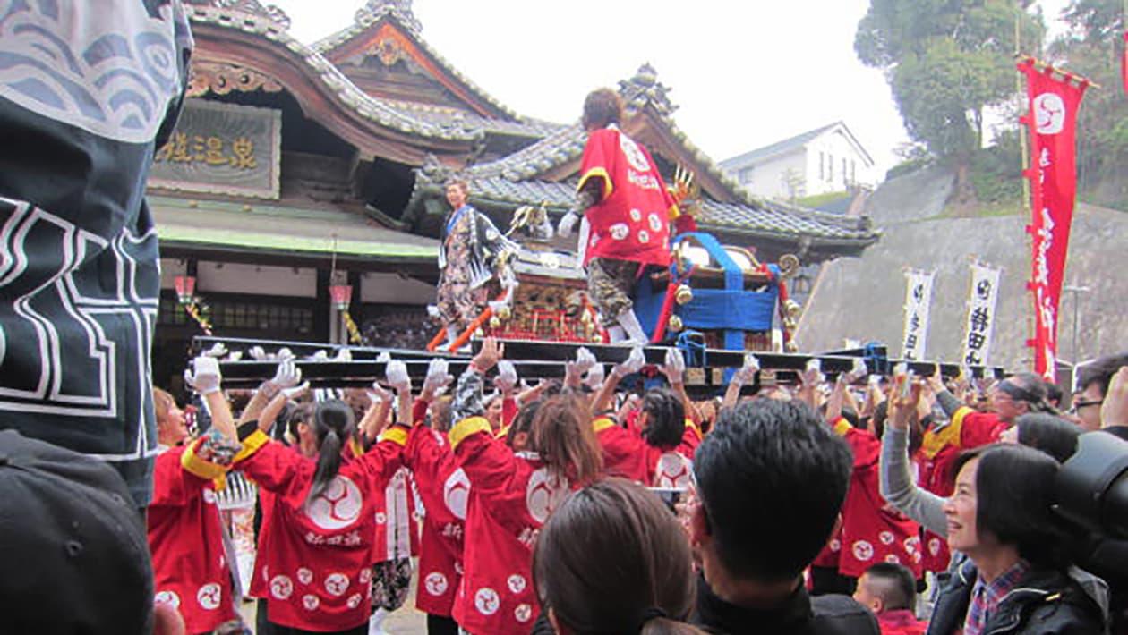 松山春季祭典(道后温泉祭典)