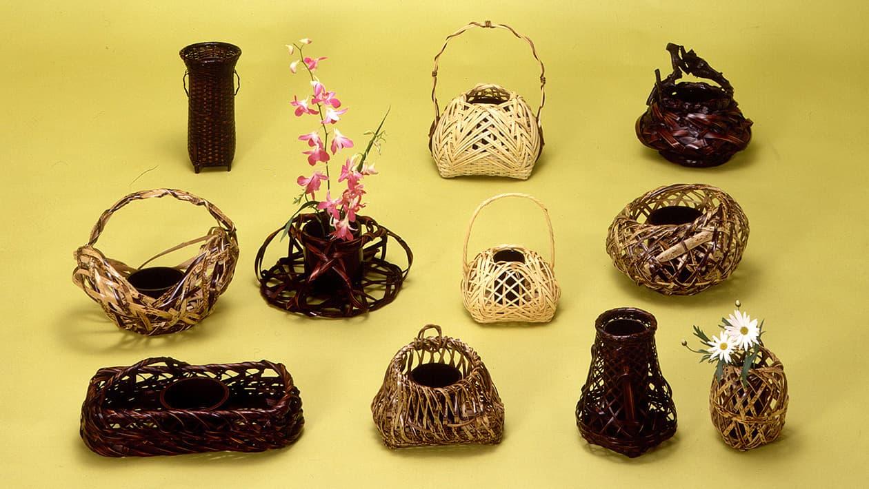 竹工艺、竹制品