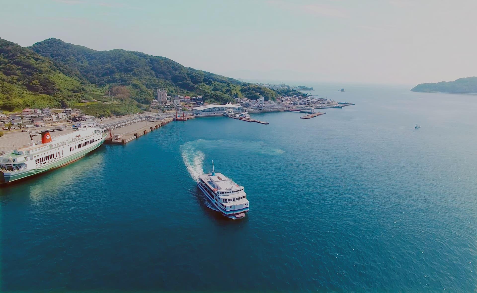 从广岛・香川巡游而来