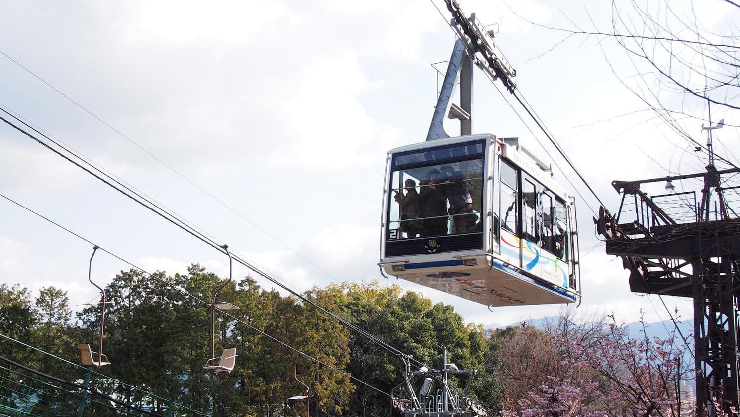 松山城山缆车